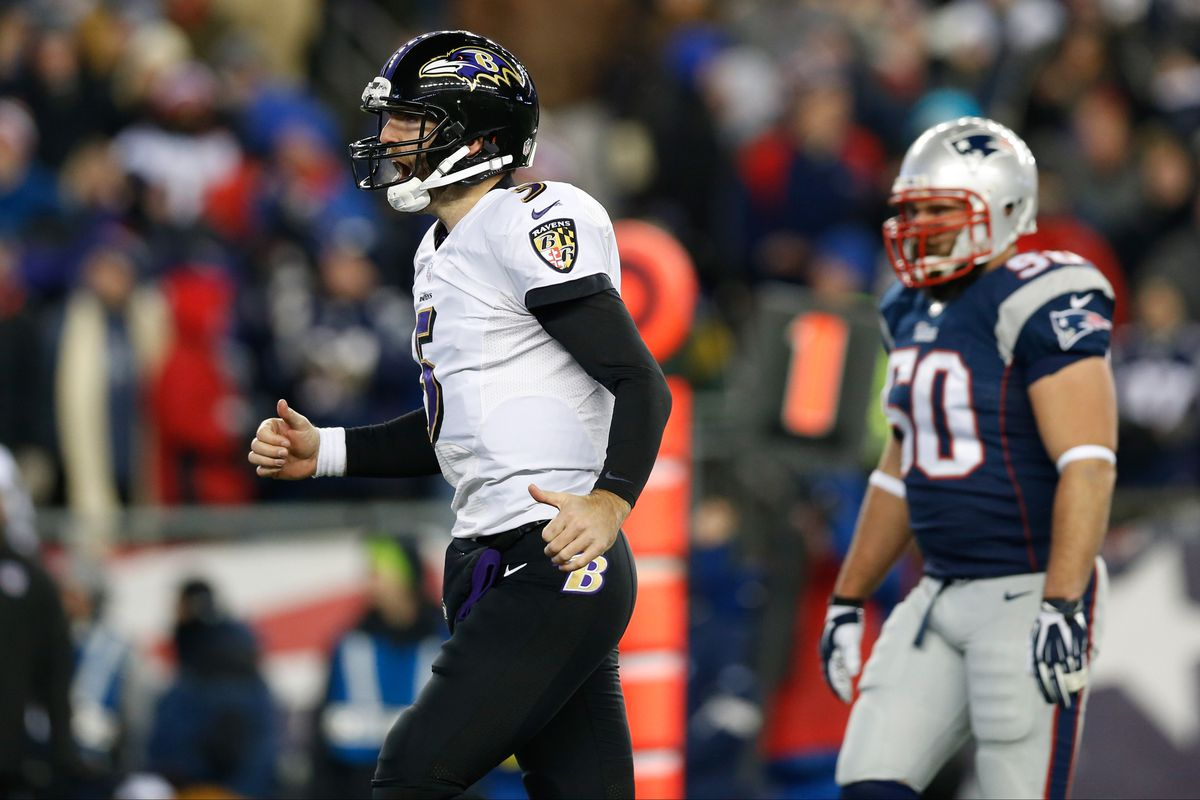 NFL: Divisional Round-Baltimore Ravens at New England Patriots