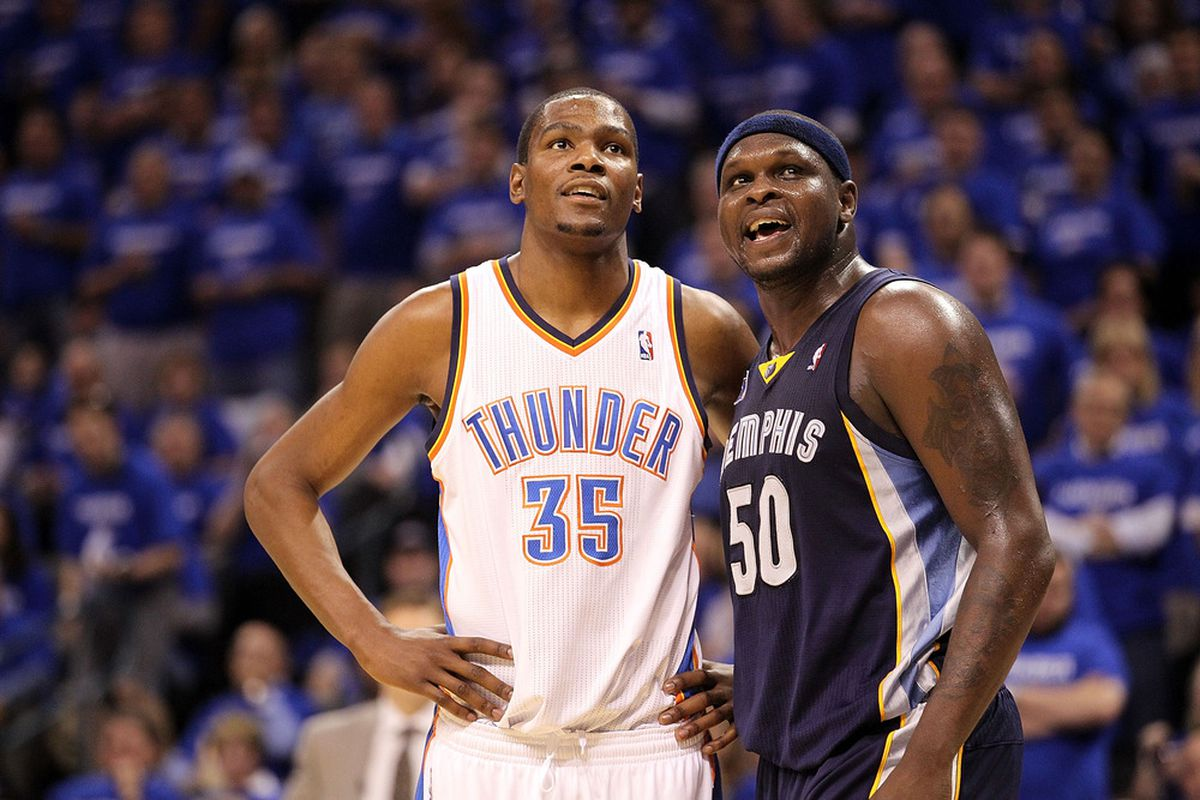 Durant and Z-Bo go at it again