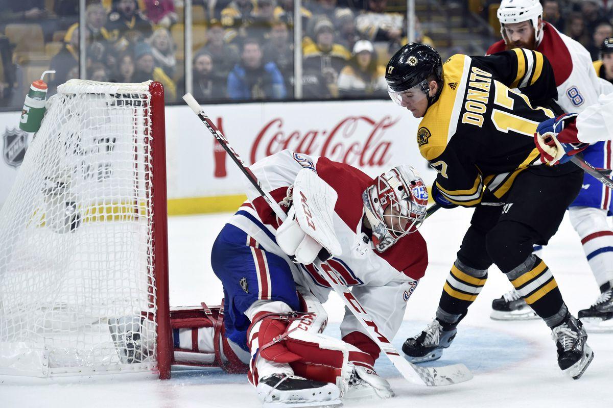 NHL: Montreal Canadiens at Boston Bruins