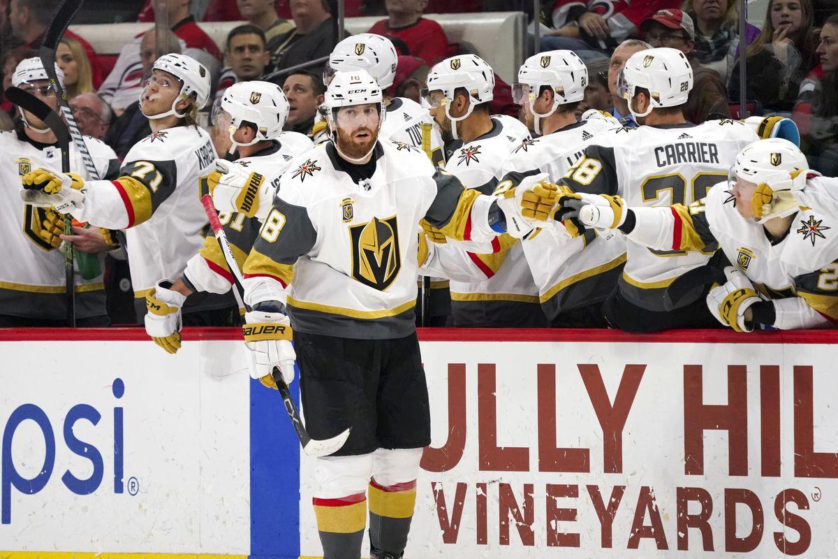 NHL: Vegas Golden Knights at Carolina Hurricanes