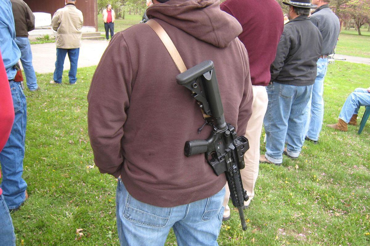 The NRA hopes this is not what you wear to Chipotle.