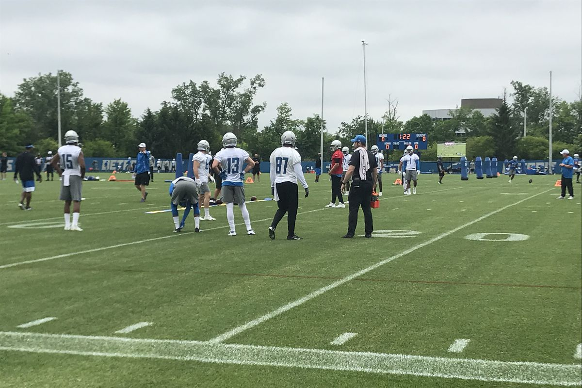 Detroit Lions minicamp Day 3 observations: Jermaine Kearse debuts with first team