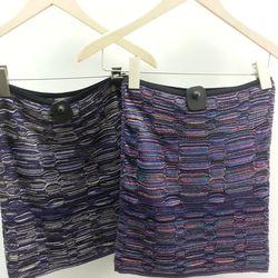 Missoni skirts, $120 and $90