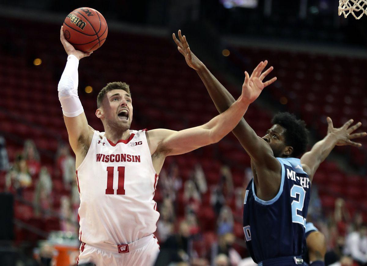 NCAA Basketball: Rhode Island at Wisconsin