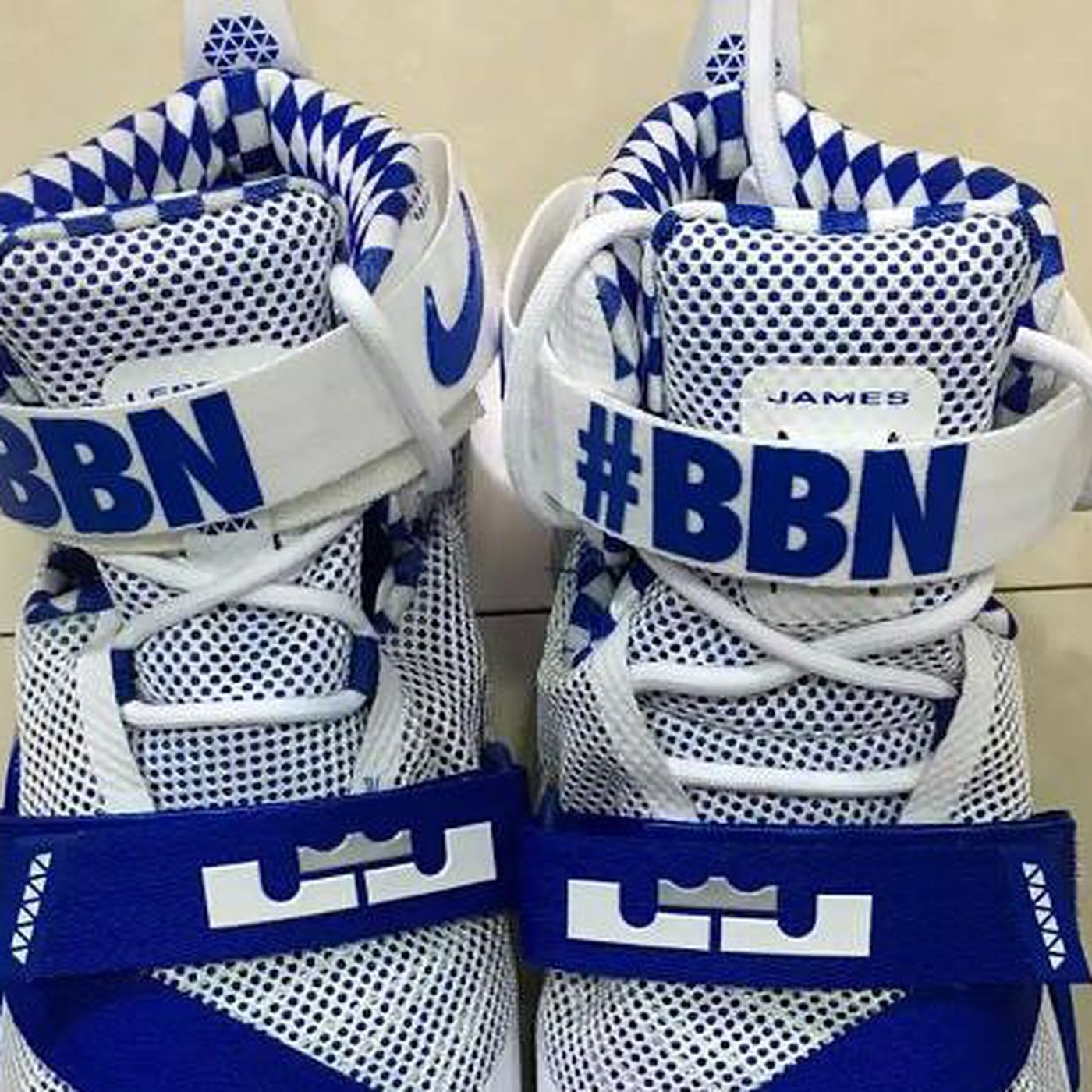 e2a9556d065 Kentucky Basketball Nike LeBron Zoom Soldier 9 Revealed - A Sea Of Blue