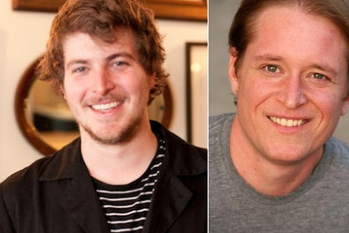 Chris Kronner (left), Nick Balla.