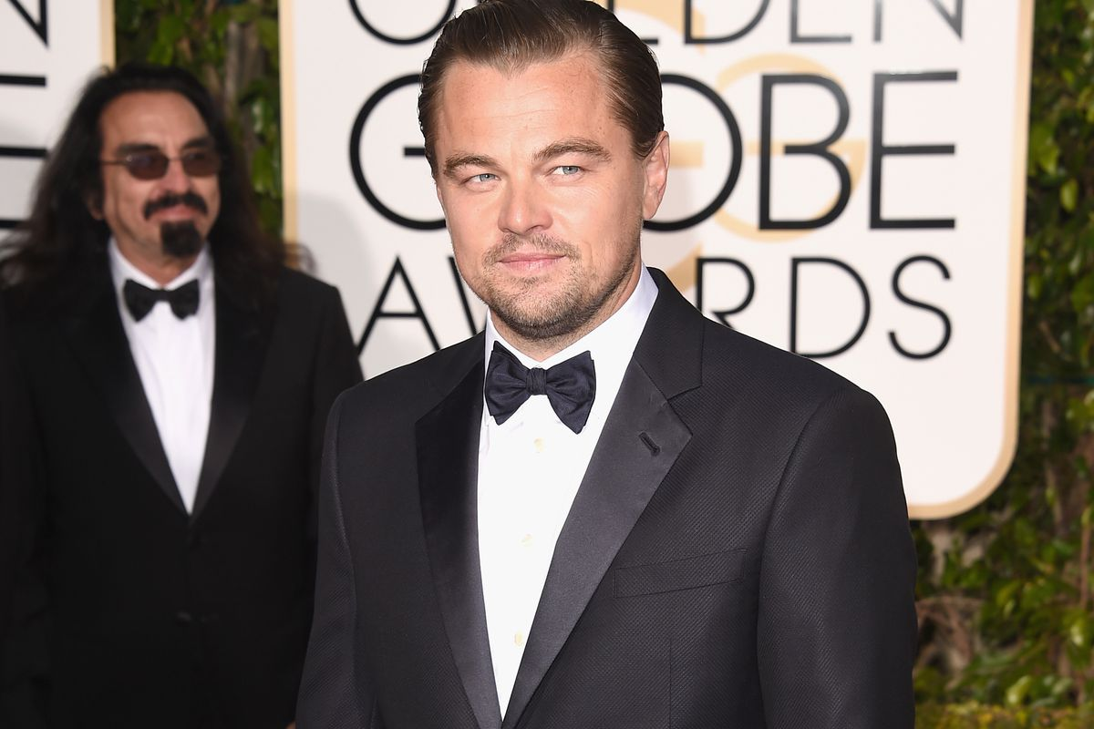 Actor Leonardo DiCaprio attends the 73rd Annual Golden Globe Awards held at the Beverly Hilton Hotel on January 10, 2016, in Beverly Hills, California.