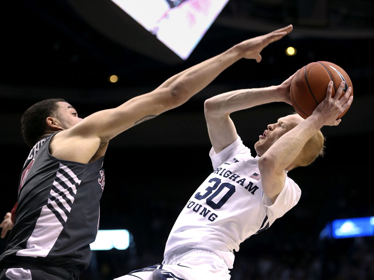 TJ Haws carries No. 23 BYU to win over Santa Clara, setting up big showdown with No. 2 Gonzaga