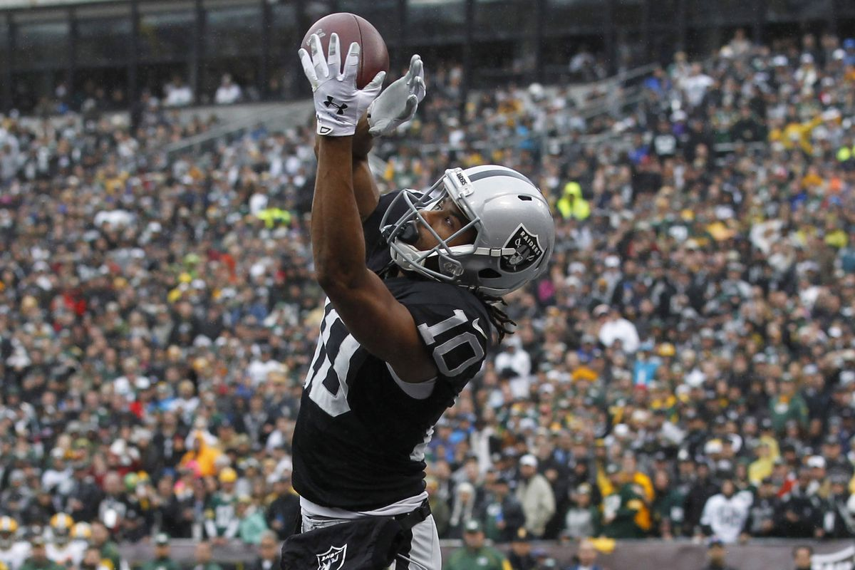 After spending 2014 on the Raiders practice squad, Seth Roberts has estabblished himself as a capable slot receiver.