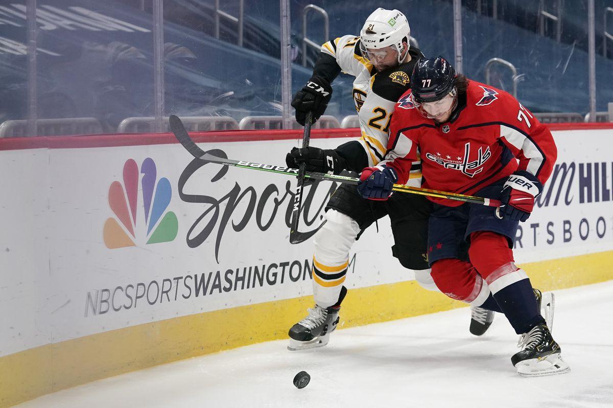 Boston Bruins v Washington Capitals