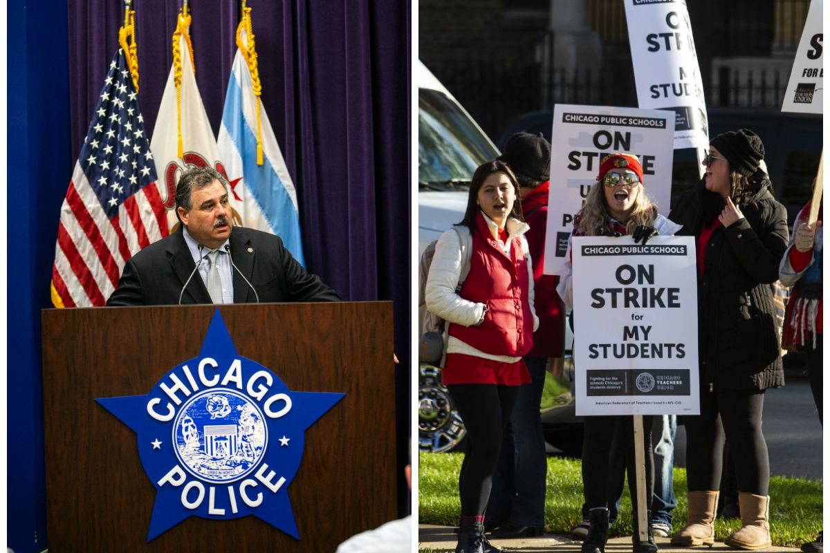 Teachers offered better deal than Chicago cops, police union says