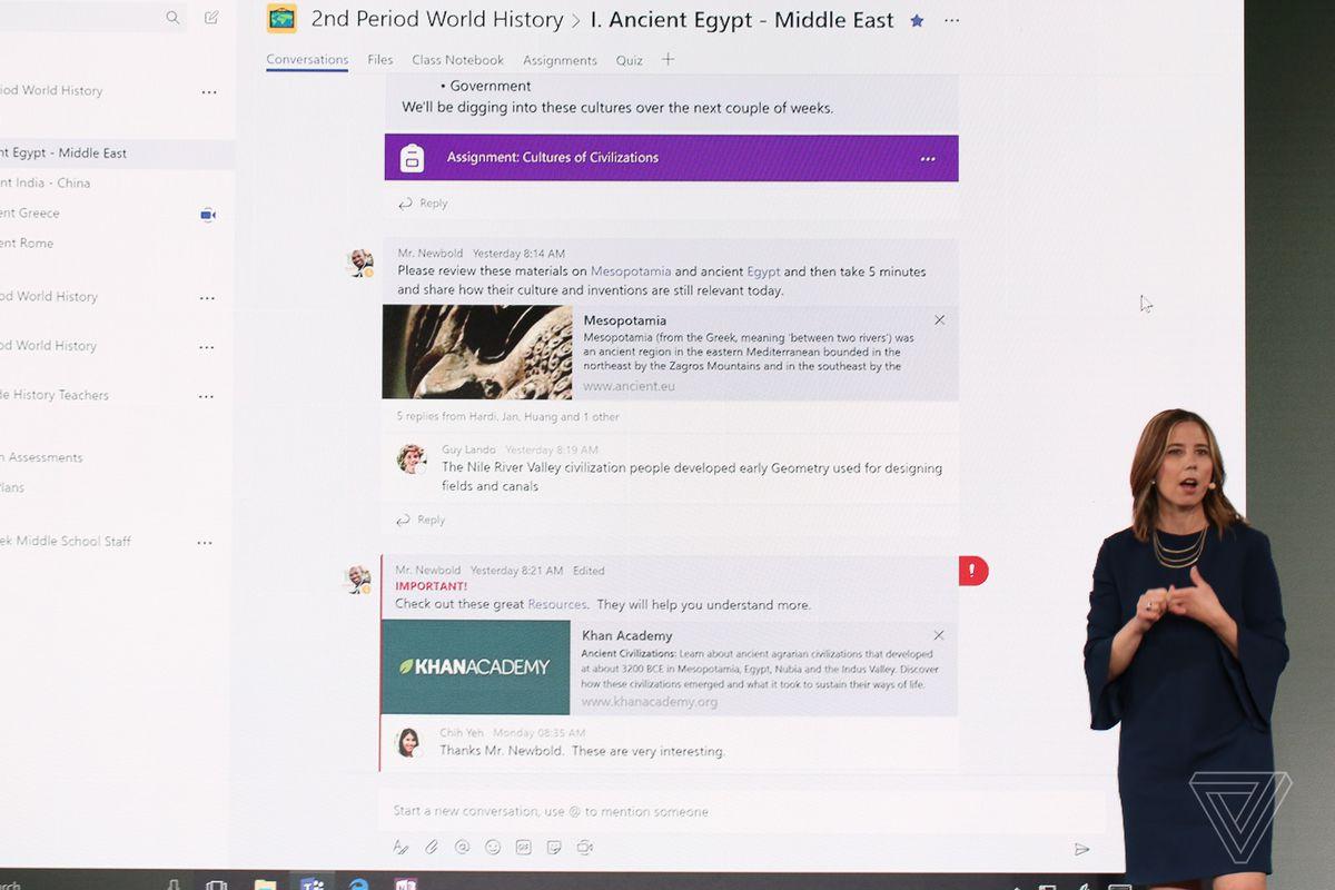 Microsoft Teams for schools