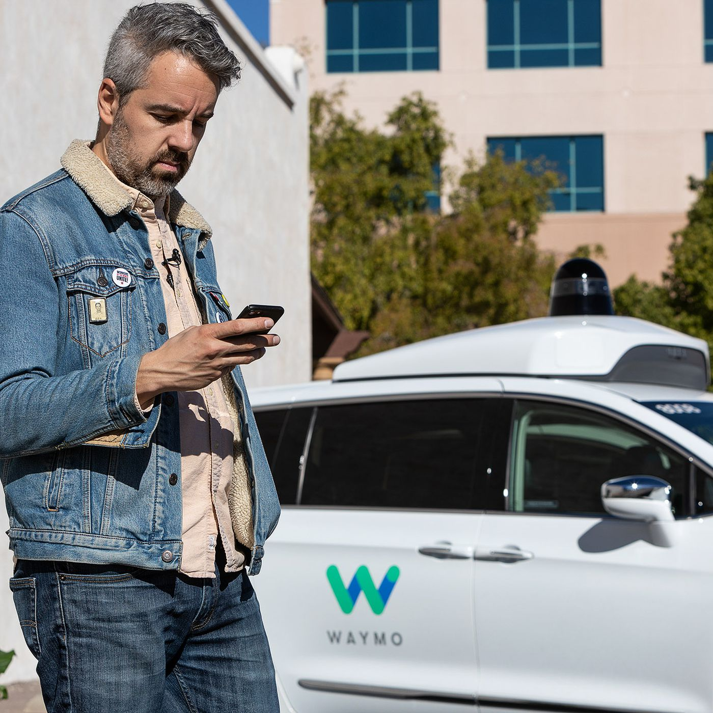 Ride Drive For Once Everyone On John >> Riding In Waymo One The Google Spinoff S First Self Driving Taxi