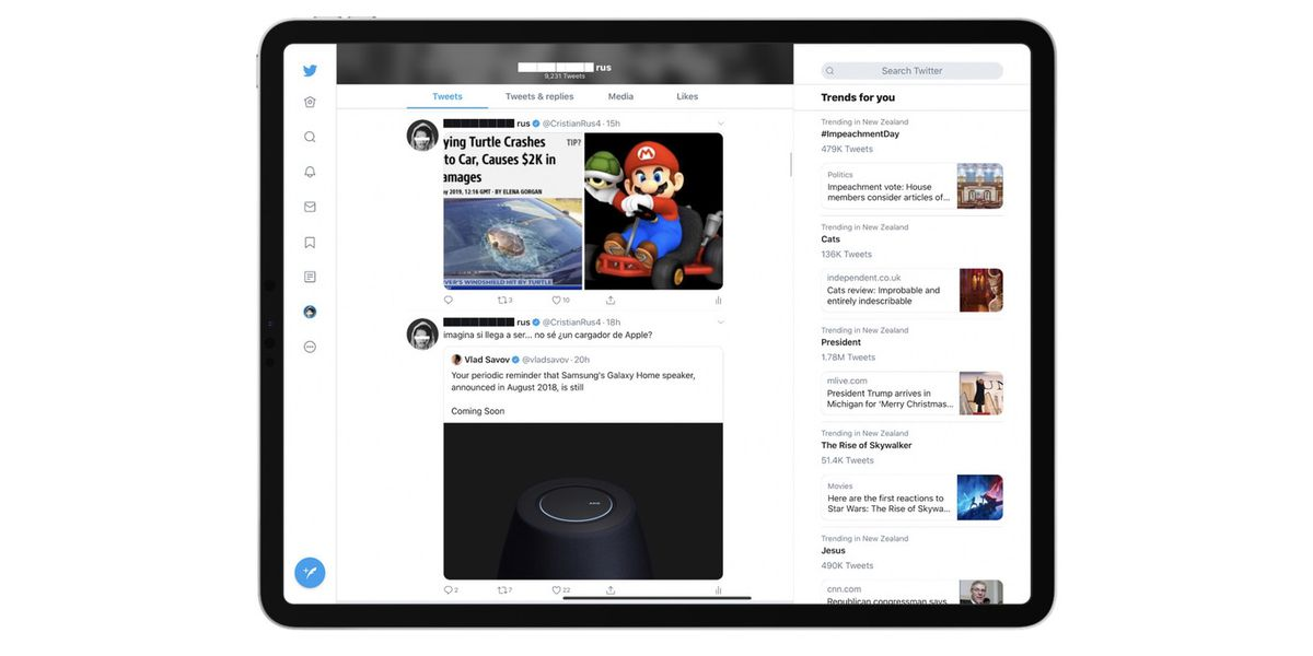 Twitter's iPad app is getting a much-needed redesign - The Verge