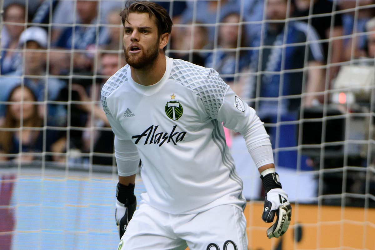 The Timbers' Jake Gleeson has been one of the season's revelation in MLS