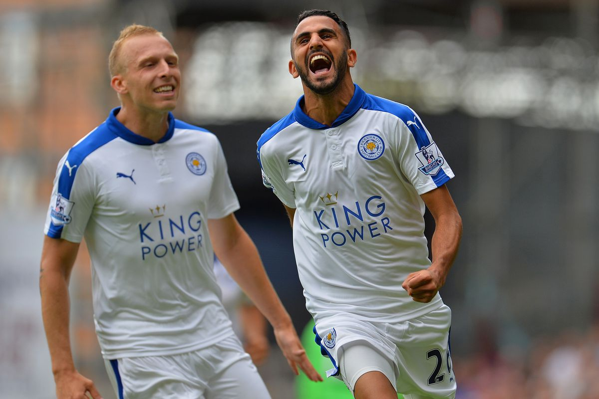 Leicester donned an all-white third kit last season.