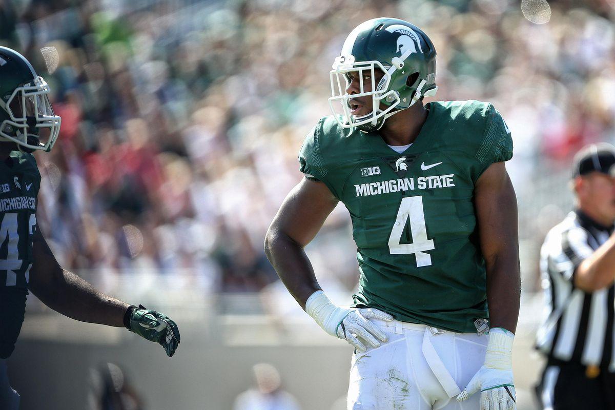 NCAA Football: Wisconsin at Michigan State