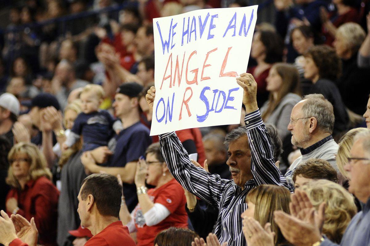 Yes, Gonzaga fan, you do.