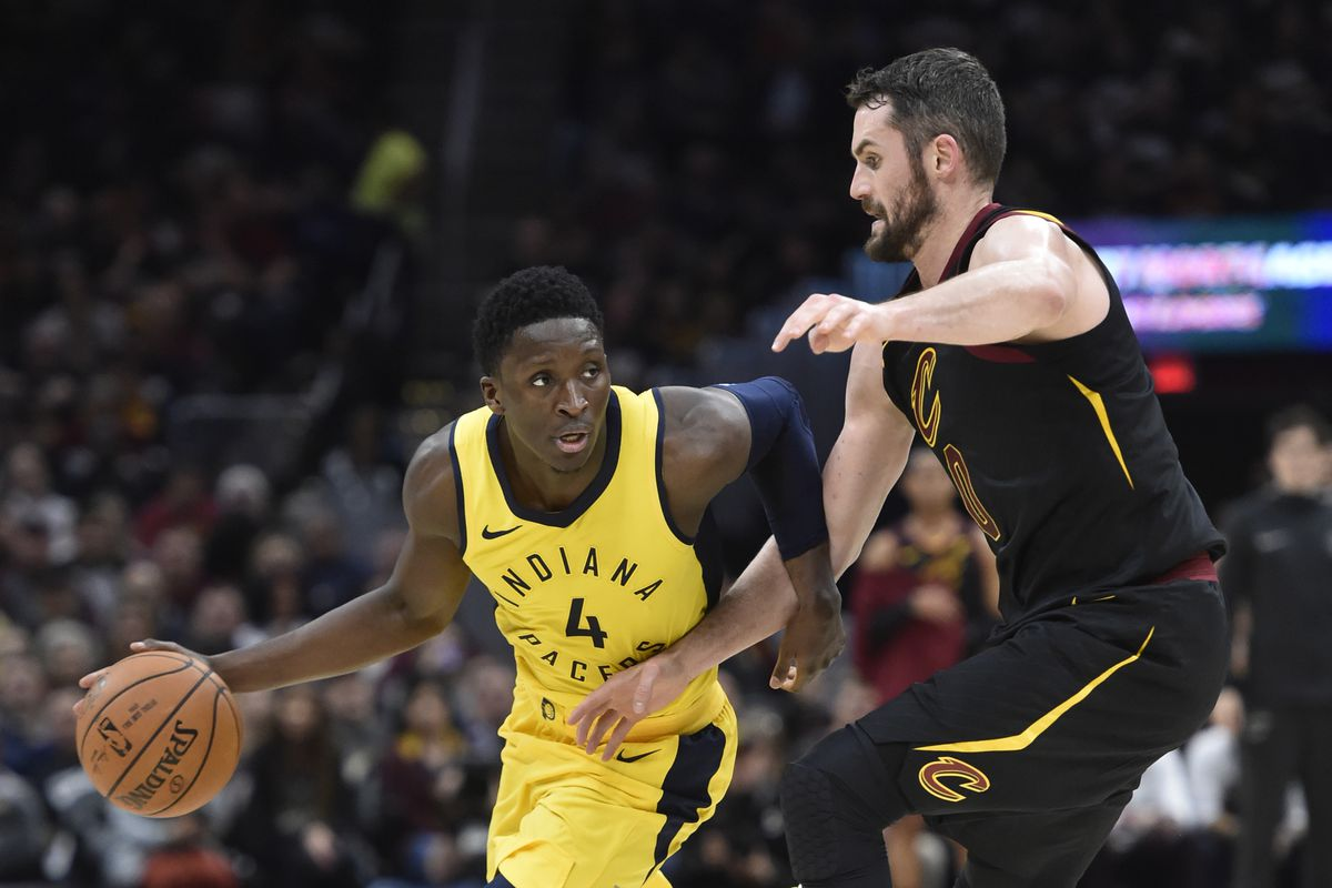 d9801f0dd852 Pacers vs. Cavs 2018 results  Indiana stuns LeBron James with an 18-point  beatdown