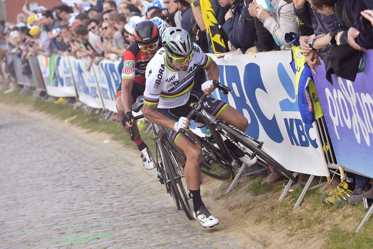 Sagan Crash Kwaremont