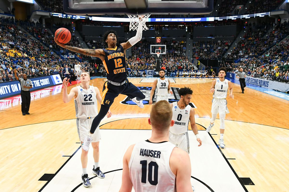 NCAA Basketball: NCAA Tournament-First Round- Marquette vs Murray State