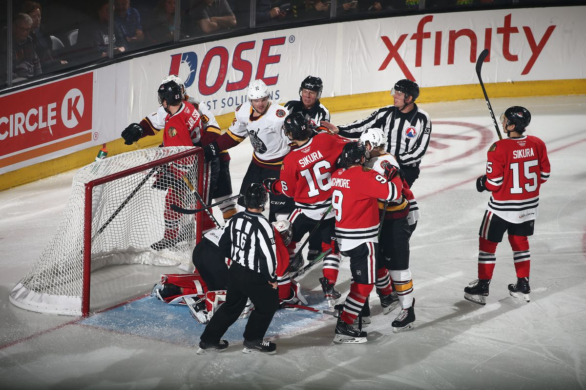 Wolves lose second straight to Tyler Sikura, IceHogs
