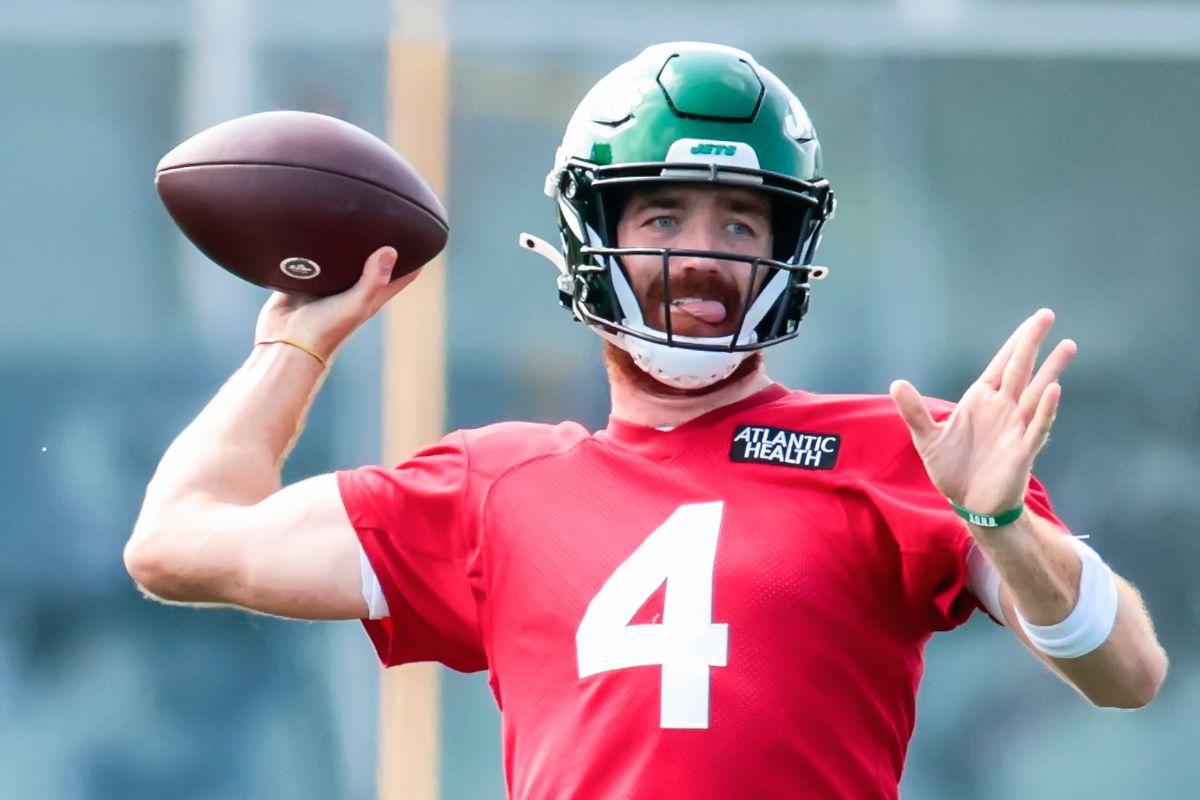 NFL: AUG 11 New York Jets Training Camp