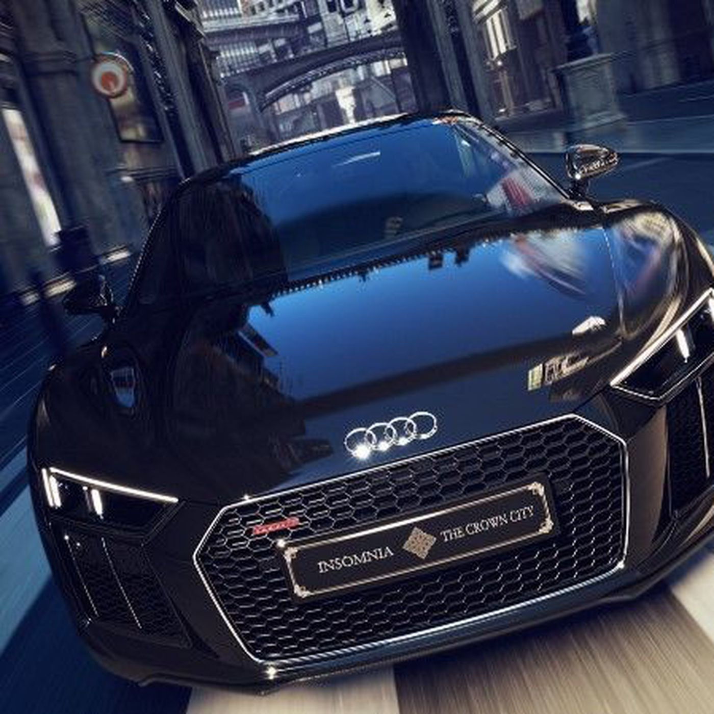 Buy Audi's ludicrous Final Fantasy XV-themed supercar for $470,000