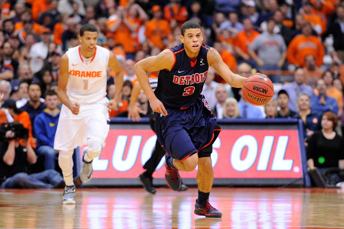 Lakers Taking Detroit S Ray Mccallum In Espn S Mock Draft