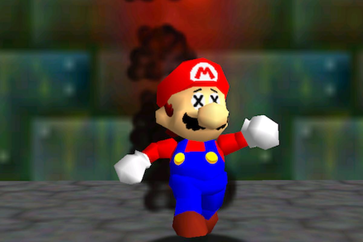 Mario 64 smoke