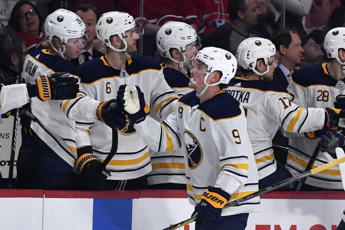 Buffalo Sabres to Appear on National TV Five Times