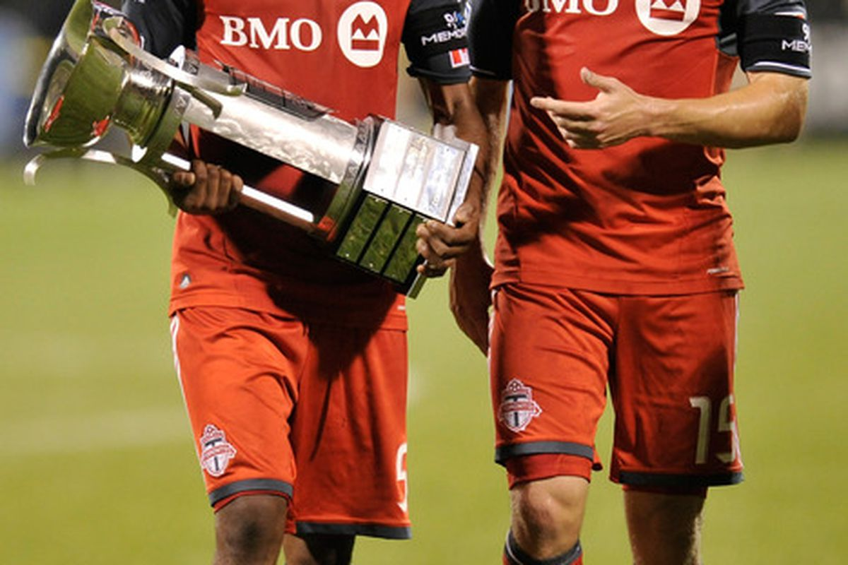 No cups at stake this time around but Matt Stinson and Ashtone Morgan could both be playing for Canada at BMO on the 15th!