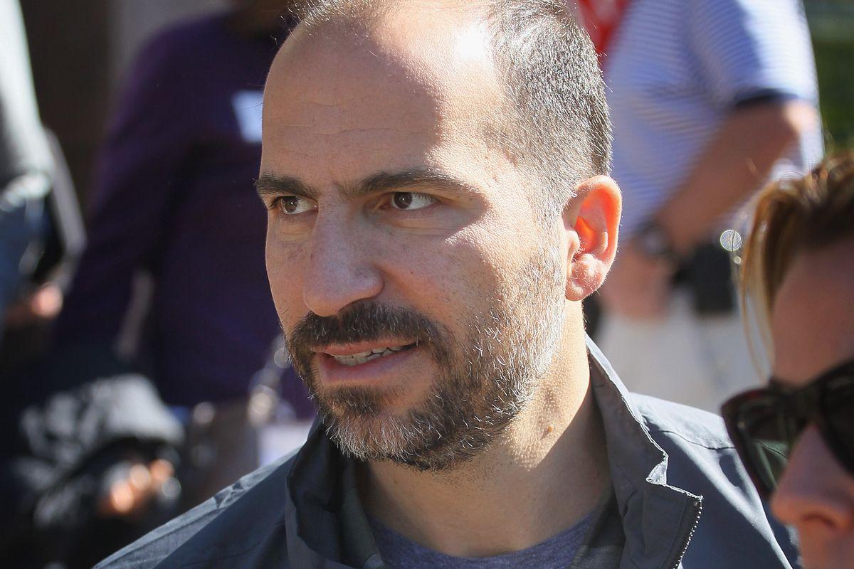 New Uber CEO Dara Khosrowshahi at Sun Valley, Idaho