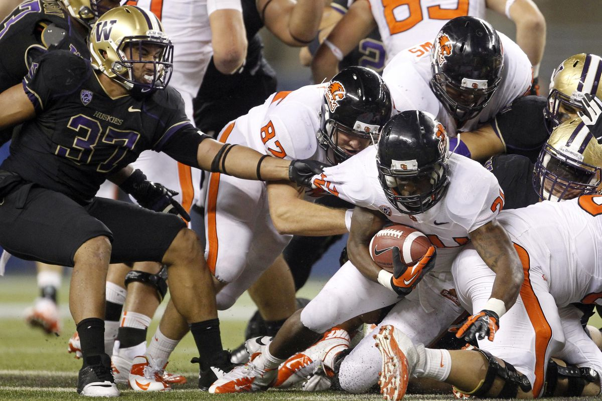Sr. LB Princeton Fuimaono has capped a terrific camp by being named co-starter at OLB with Travis Feeney