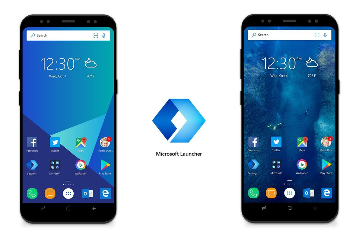 Android Microsoft Launcher