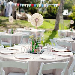"""Design your own centerpieces and wedding favors by visiting the local craft store, <a href=""""http://www.fantasticosf.com/"""">Fantastico</a>. Photo by <a href=""""http://madisondyer.com"""">Madison Dyer</a>"""