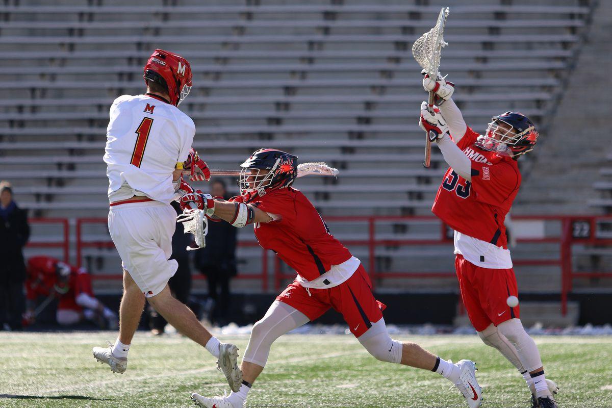 Maryland men's lacrosse Jared Bernhardt vs. Richmond