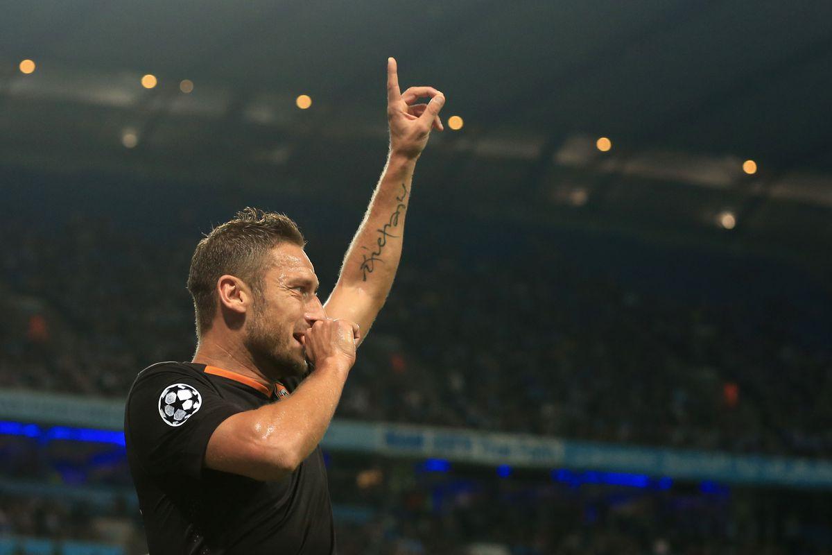 Manchester City v AS Roma - UEFA Champions League