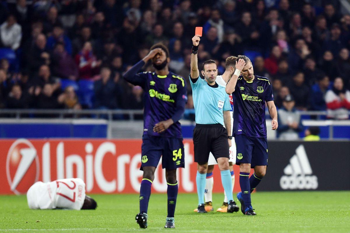 Olympique Lyonnais v Everton - Europa League