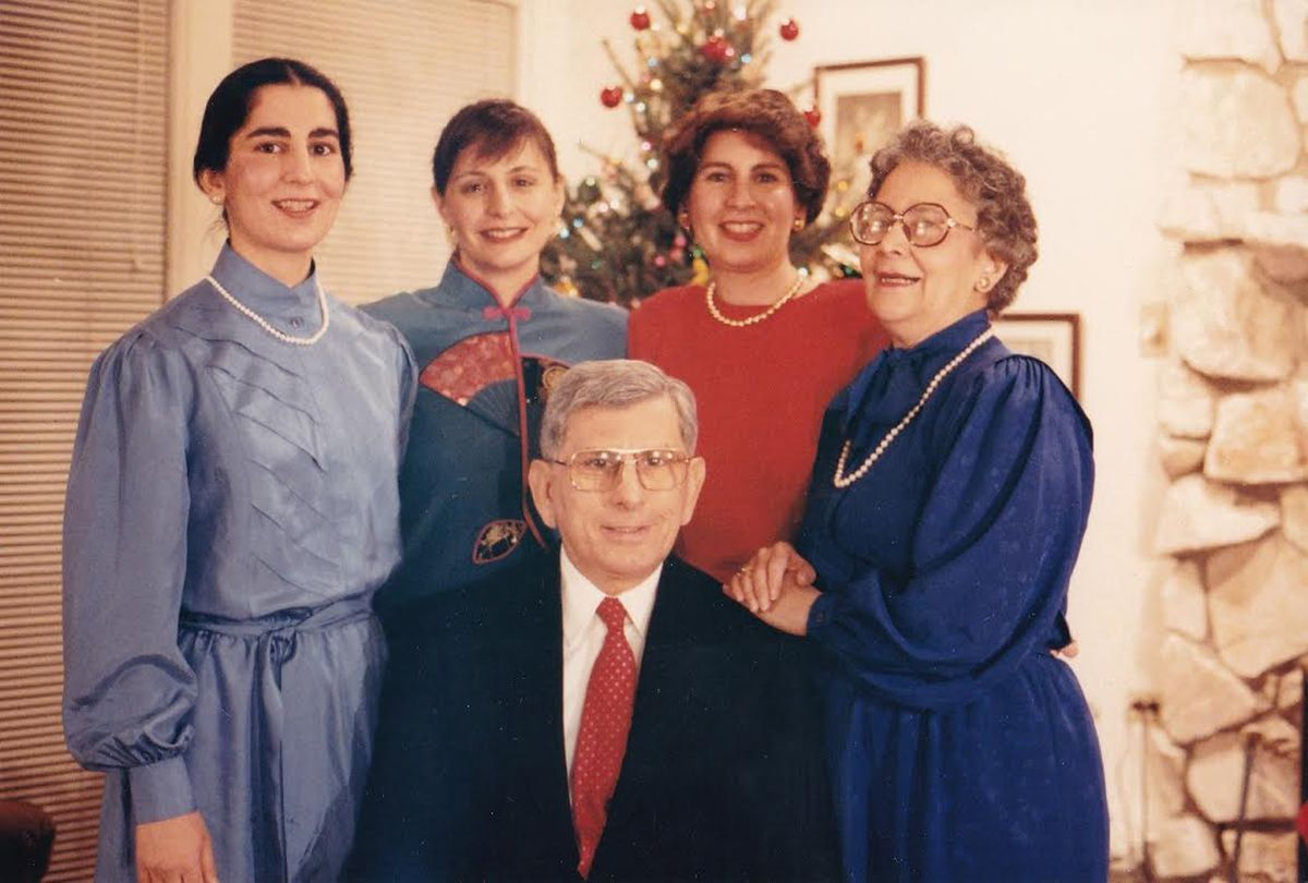 Al Mampre in a 1980s family photo with (from left) his daughters Elizabeth Celebucki, Susan Mapre and Virginia Mampre and his wife Virginia Mampre.
