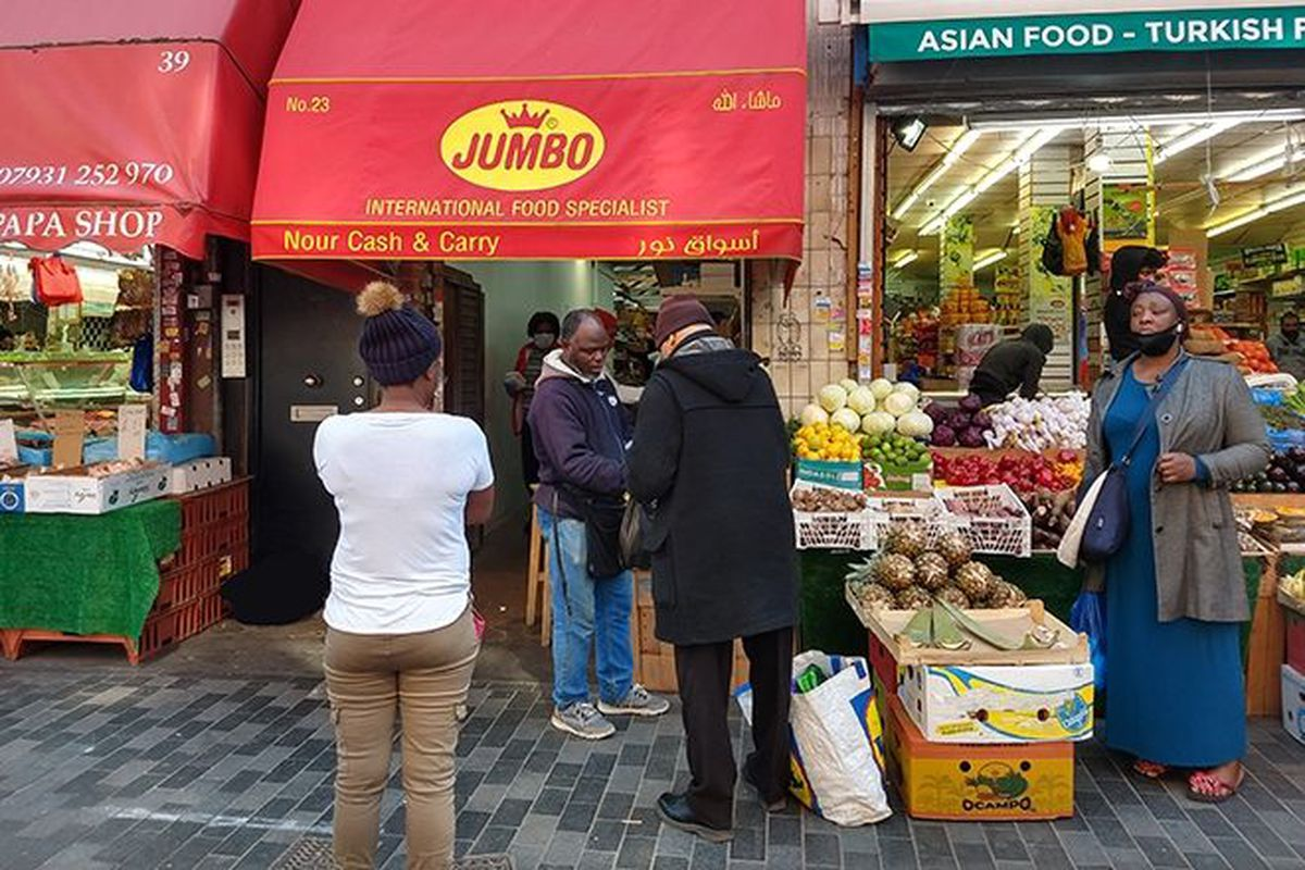 Nour Cash and Carry in Brixton Market