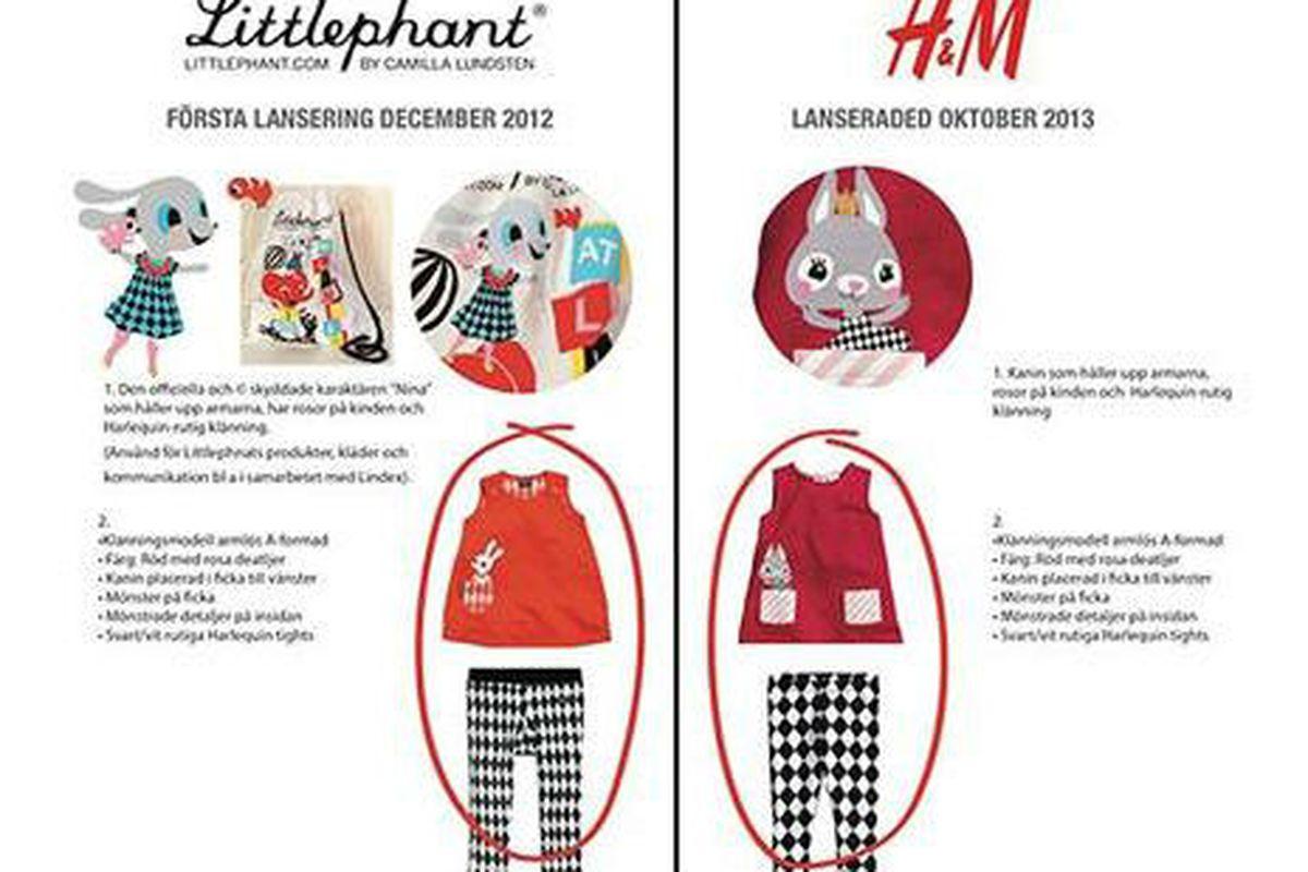 """Image <a href=""""http://www.expressen.se/mode/kladjatten-h--m-drar-tillbaka-barnklader/"""">via</a>."""