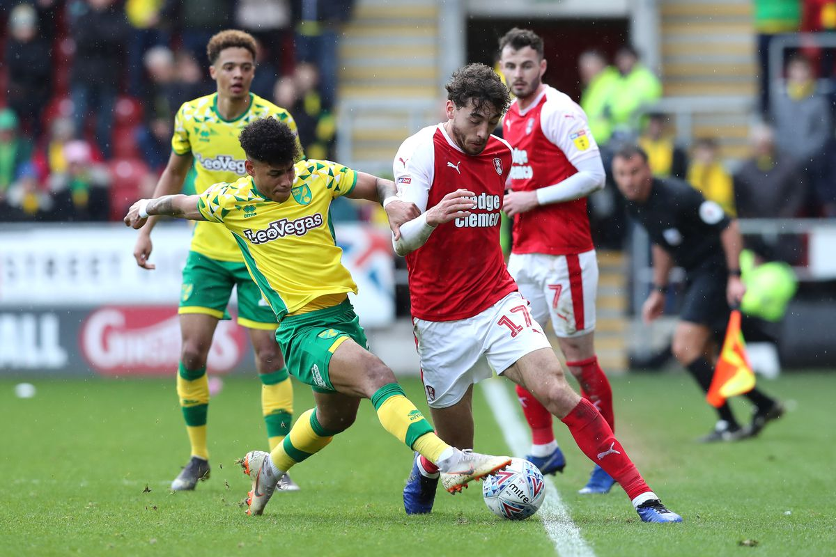 Rotherham United v Norwich City - Sky Bet Championship