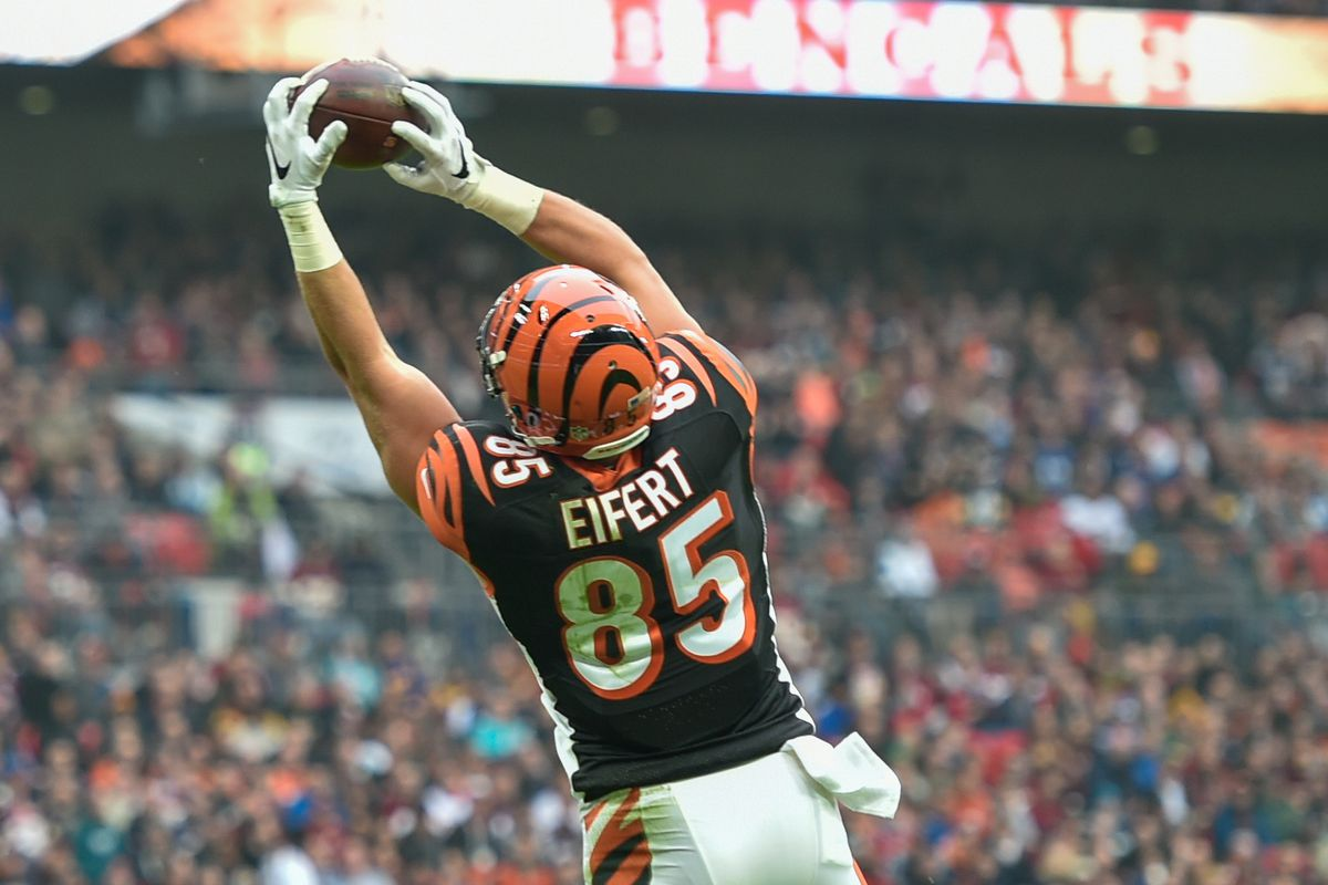 Bengals roster breakdown 90 in 90 Tyler Eifert striving to stay