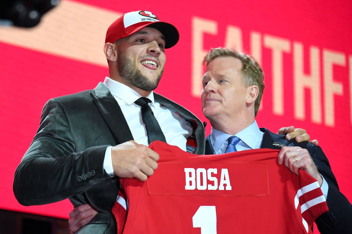 NFL Draft grades 2019: 49ers get straight A's for Nick Bosa pick ...
