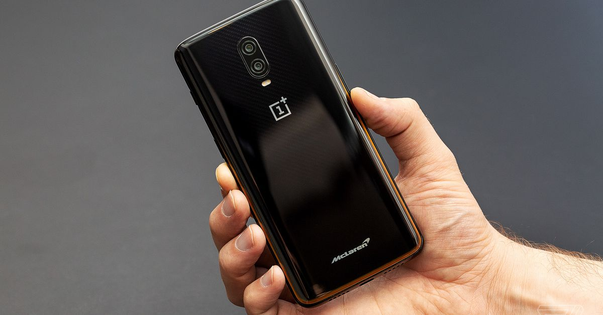 This is the OnePlus 6T McLaren Edition