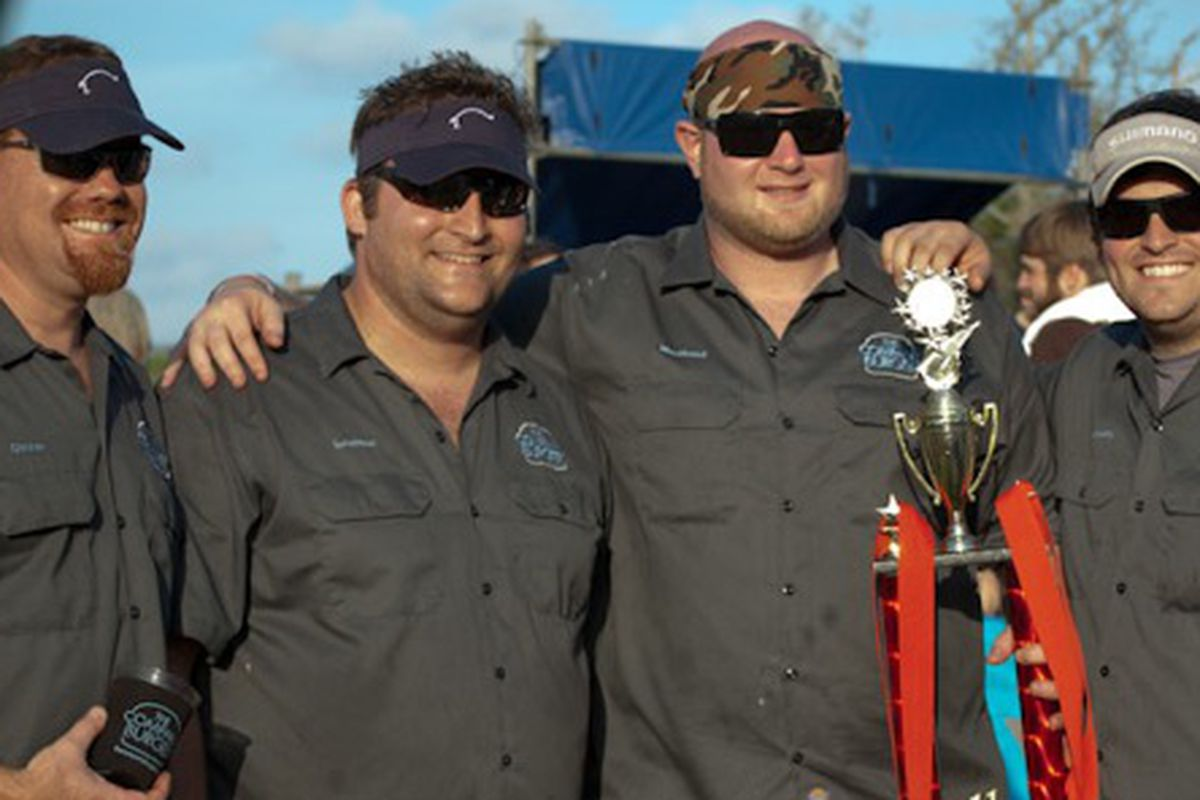 Team Company Burger at the 2011 Hogs for the Cause.