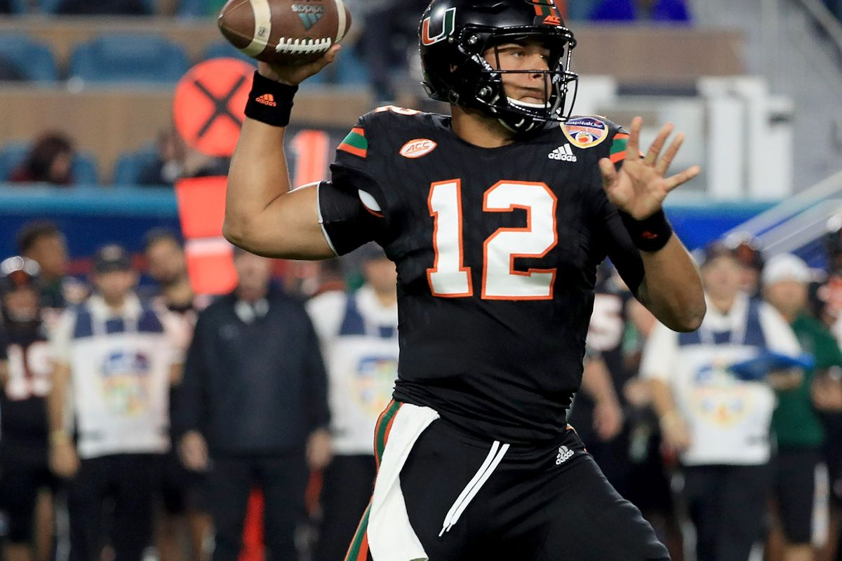 Malik Rosier and the Miami offense will have tough tasks against these  defenses in 2018 Photo by Mike Ehrmann Getty Images 9c3d300b0