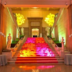 """<b>Corcoran Gallery of Art,</b> <em>Washington, D.C.:</em> In terms of grandeur, the <a href=""""http://www.corcoran.org/event-rentals"""">Corcoran</a> is hard to beat, with its sky-lit atrium surrounded by 40 columns. <a href=""""https://www.facebook.com/photo.ph"""