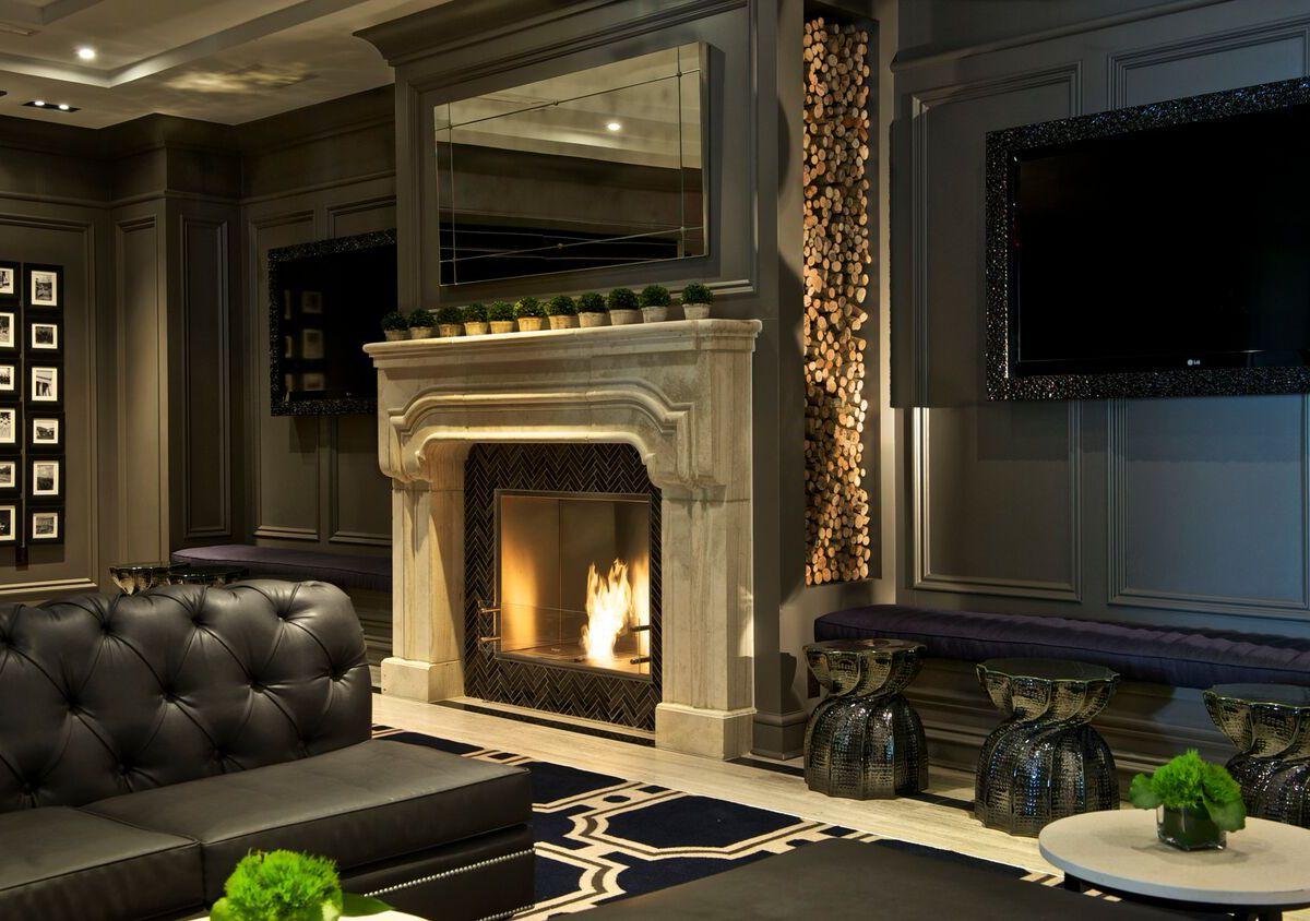 Melrose DC fireplace